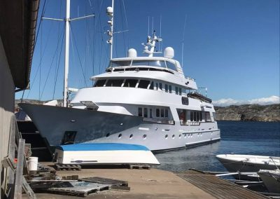 Marint elarbete ombord Daydream